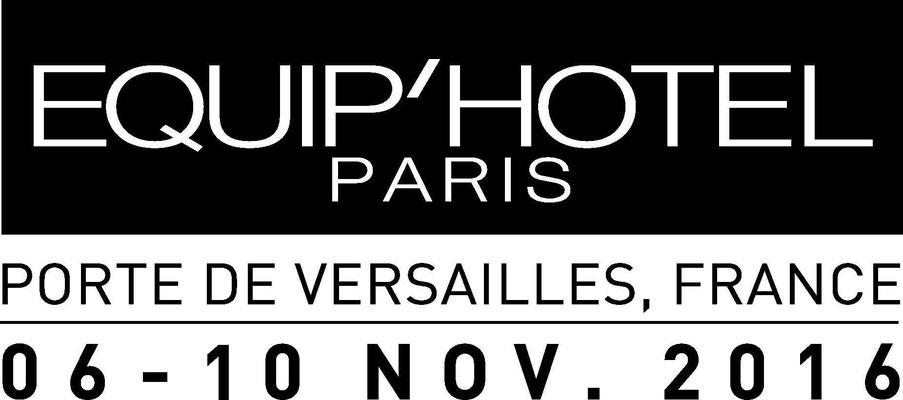 Salon Equip'Hotel, novembre 2016 - Porte de Versailles