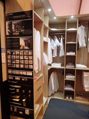 ©Coulidoor, Dressing rangement composable, nouvelle hauteur sous plafond H2452 mm