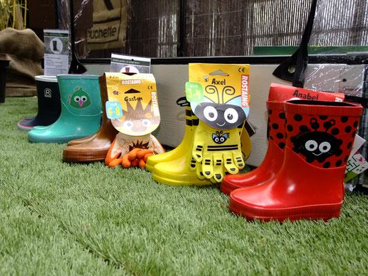 ©Archi'Tendances, Rouchette, gamme Zamis bottes enfants