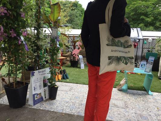 ©Archi'Tendances, stand au Salon Jardins Jardin 2018 par l'agence RP Amsterdam Communication