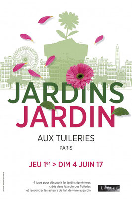 Salon Jardins, Jardin - Tuileries Paris 1er - Juin 2017