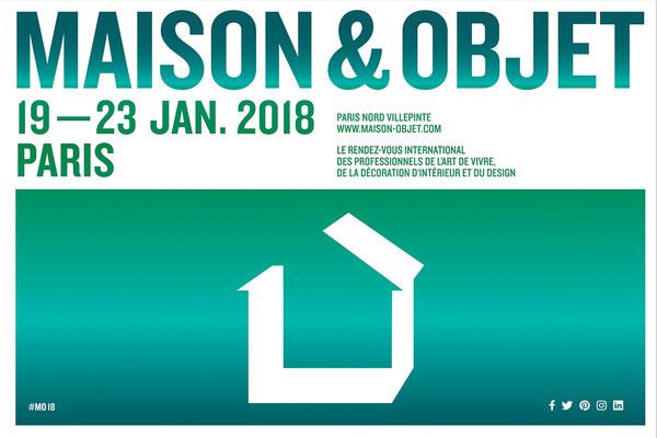 Salon Maison & Objet - Paris - Janvier 2018