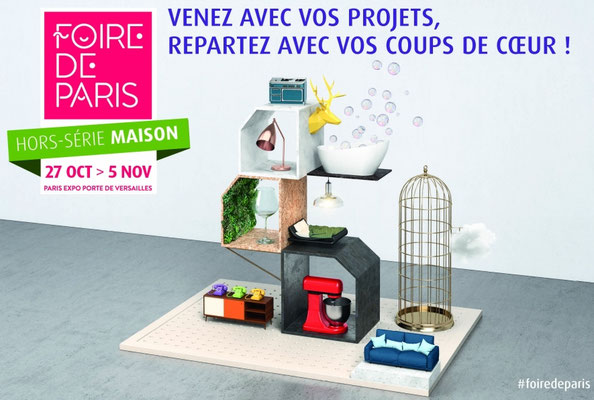 Salon Batimat & Ideobain - Paris Expo Porte de Versailles - Novembre 2017