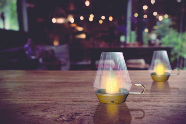 ©Nortene, lampe Lucerna