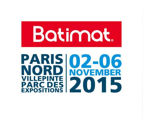 Batimat, le mondial du bâtiment - Novembre 2015 - Paris Nord