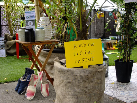 ©Archi'Tendances, Idfer étiquette de jardin Happiness