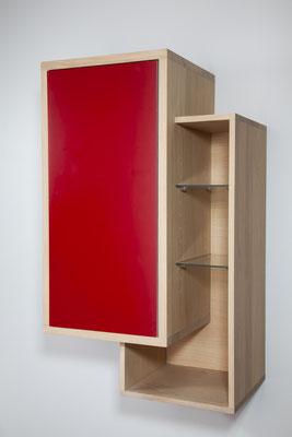 ©O'Design, meuble Scala, placard rouge, groupe Ottofond