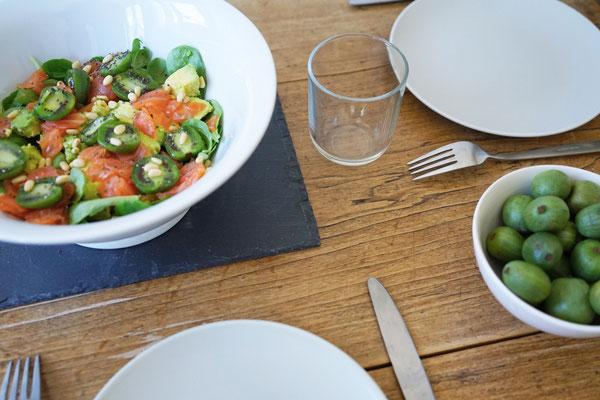 ©Javoy Plantes, Kawaï, recette salade estivale