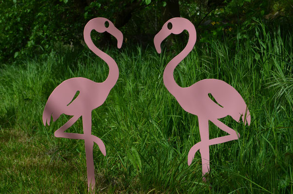 ©IDFER, Lady Pink, Flamant rose (duo)