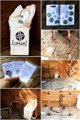 Action blogueuses Kit Lumaki, Blog Mon Carnet Deco