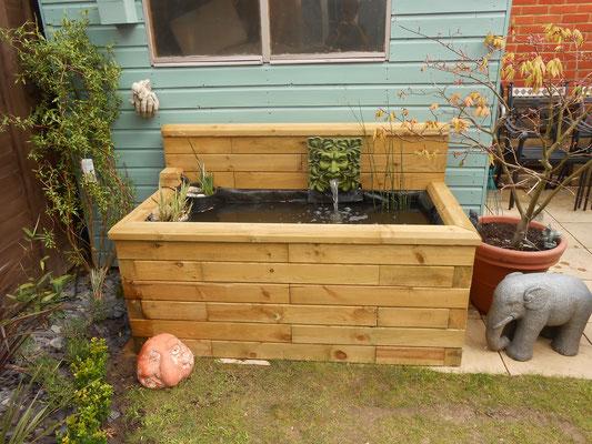 ©WoodBlocX, bassin en bois surélevé - aménagement des extérieurs