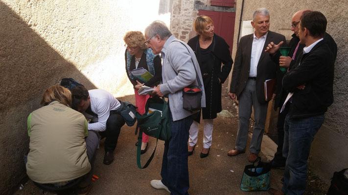 Pour Sentritech, les journalistes se sont déplacés pour une visite de chantier