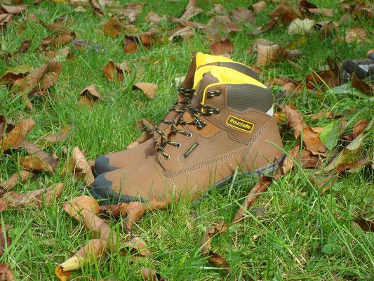 Rouchette, chaussure Gramont, la chaussure de protection