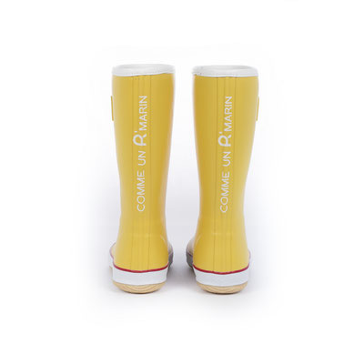 ©Rouchette - Modèle CAP jaune pour les enfants et les femmes - Comme un R marin