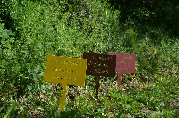 """©IDfer, étiquettes de jardin décorative HAPPINESS """"REVES"""""""