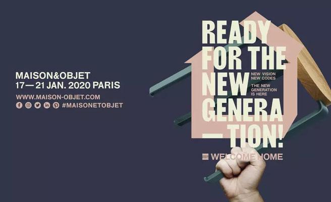 Salon Maison & Objet - Paris France - Janvier 2020