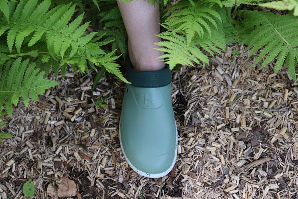 ©Rouchette, chaussure MIX coloris vert d'eau