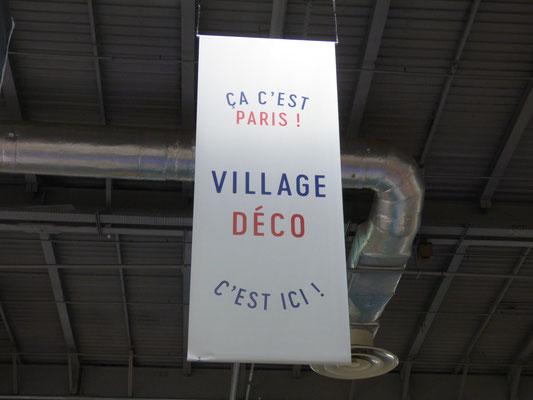 Foire de Paris 2018, Espace Village Déco