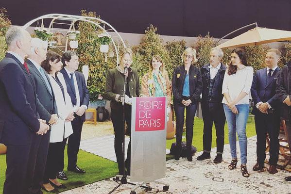Foire de Paris 2018, inauguration de l'espace Green Mania