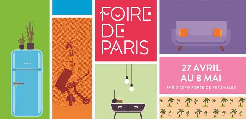 Foire de Paris - Paris Expo Porte de Versailles - du 27 avril au 8 mai 2019