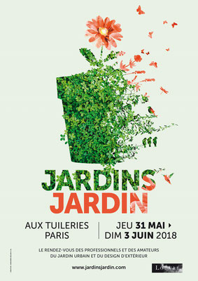 Salon Jardins, Jardin - Tuileries Paris - Juin 2018