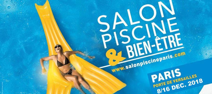 Salon Piscine & Bien-être - du 8 au 16 décembre 2018 - Porte de Versailles Paris