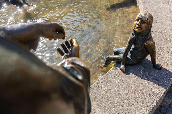 """Brunnen """"Kreislauf des Geldes"""" in Aachen"""