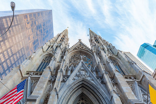 St Patricks Cathedral in downtown Manhattan, New York City