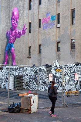 Graffiti in Downtown Manhattan