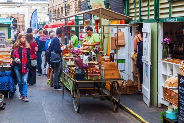 Markt in Bristol, England