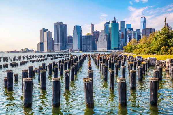 Skyline von Manhattan, New York City