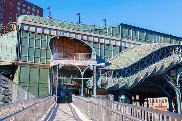 U-Bahn-Station auf Coney Island, NYC