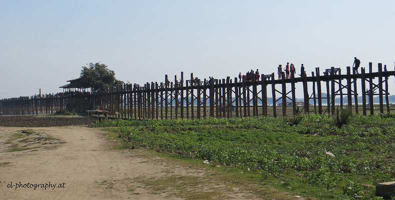 U Bein Brücke Burma