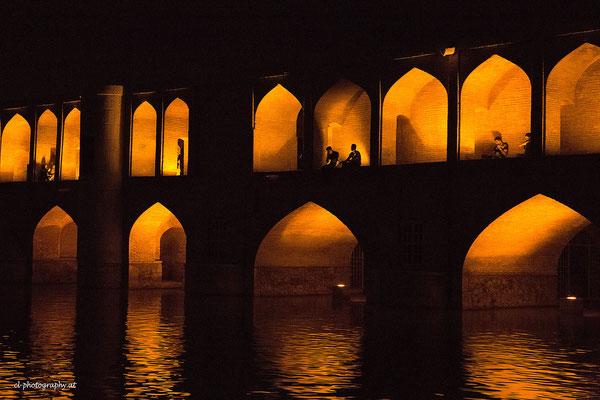 Si-o-se Pol Brücke Isfahan Iran