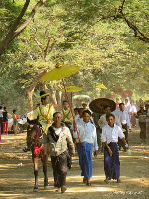 Prozession Burma