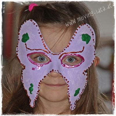Kindermaske für Karneval DIY