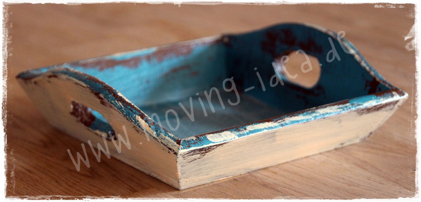 Shabby Chic Tablet selber machen