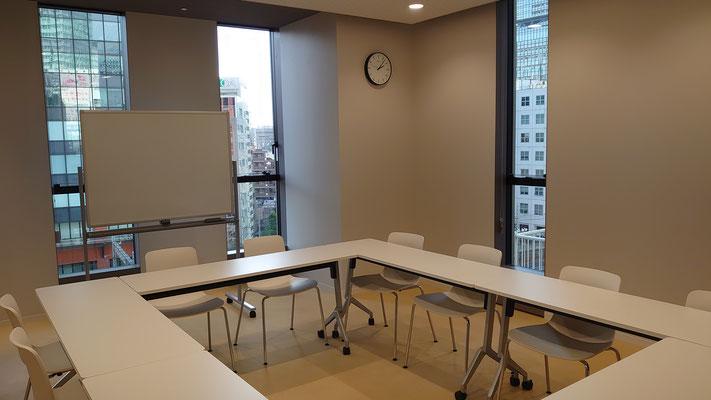 会議室のサイズも豊富で色々対処できます。