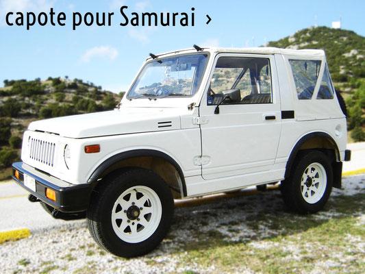 Nouvelle bache de remplacement pour Suzuki Samourai