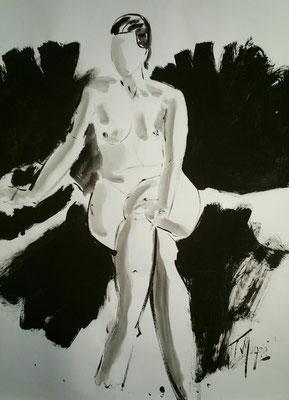 Stéphanie, 65 x 50