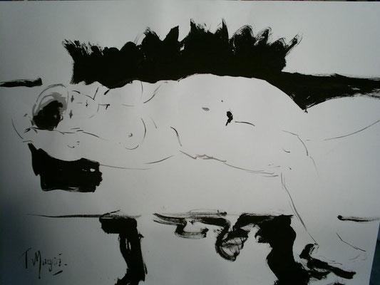 Pause, 50 x 65