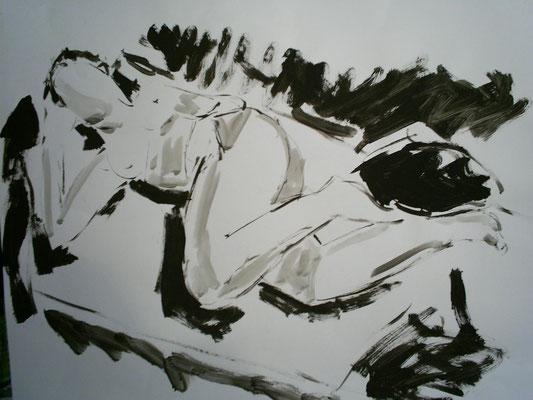 Repos, 50 x 65
