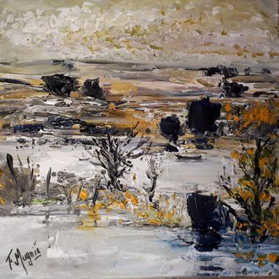 Marais, 50 x 50.