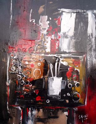 Les pinceaux, 70 x 90, vendue.
