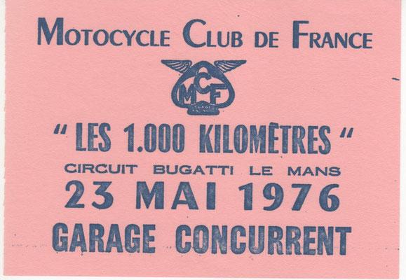 Etiquette Véhicule Concurrent (doc. J.Faucon)