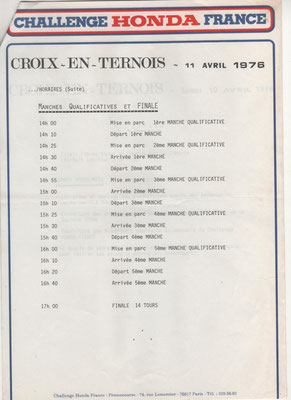 Timing 3 ème page (doc. J.Faucon)