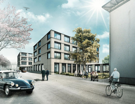 wettbewerb altergerechtes wohnen - wild bär heule architekten, zürich