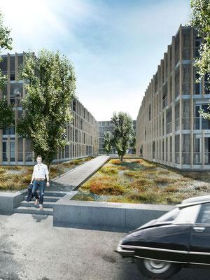wohnüberbauung in frauenfeld - stutz bolt partner, winterthur