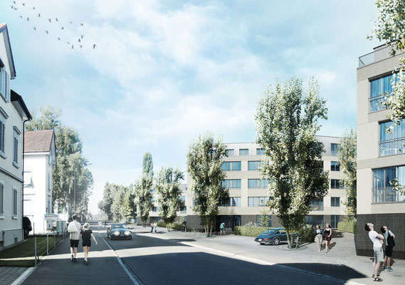 wettbewerb wohnüberbauung in romanshorn - stutz bolt partner, winterthur