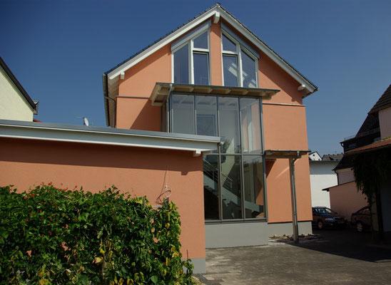 Fassadengestaltung Wohnhaus